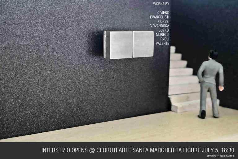 Invite opening interstizio cerruti arte